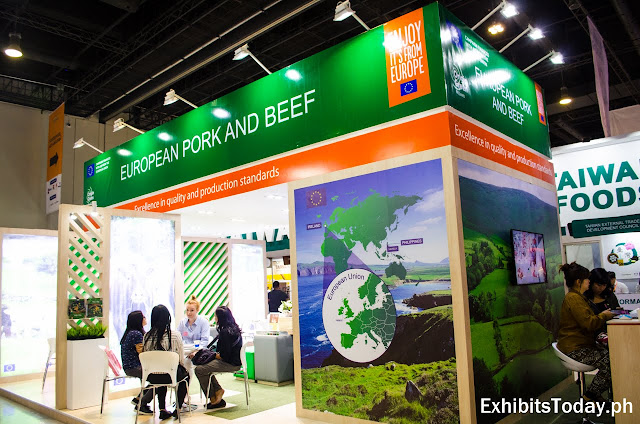 European Pork and Beef Tradeshow Display