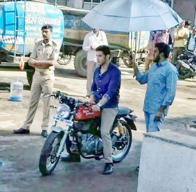 Mahesh babu - Murugadoss Movie Latest Working Stills