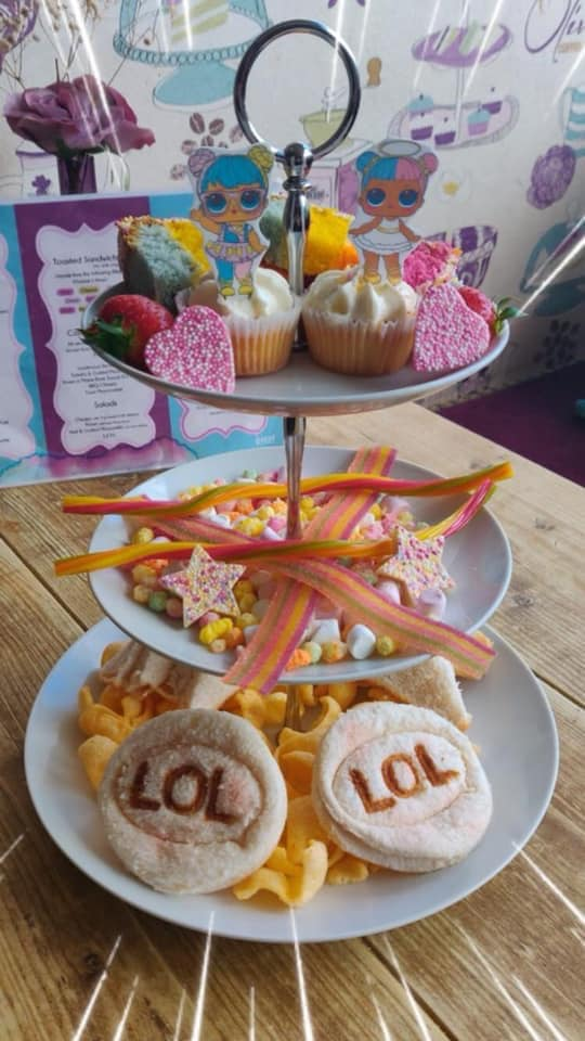 20+ Places you can book Children's Afternoon Tea in North East England - LOL theme - olivias tearoom