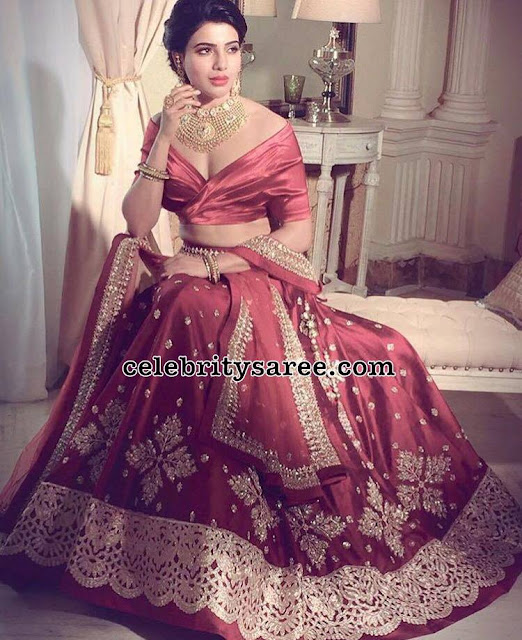 Samantha in Anushree Reddy