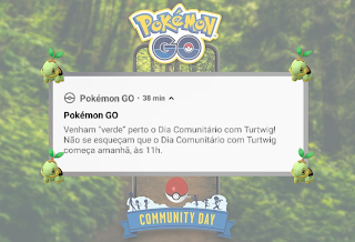 Community Day Turtwig - Eventos solidários pelo Brasil
