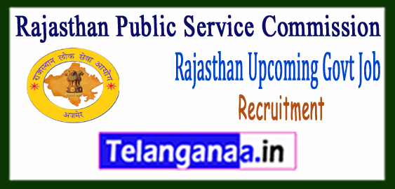 RPSC Rajasthan Public Service Commission Calendar 2017-18 Upcoming Govt Jobs Recruitment Notification