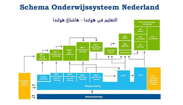 التعليم في هولندا