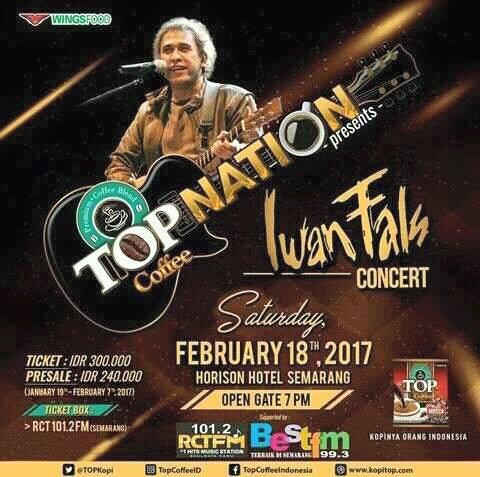 Konser Iwan Fals Top Nation Semarang