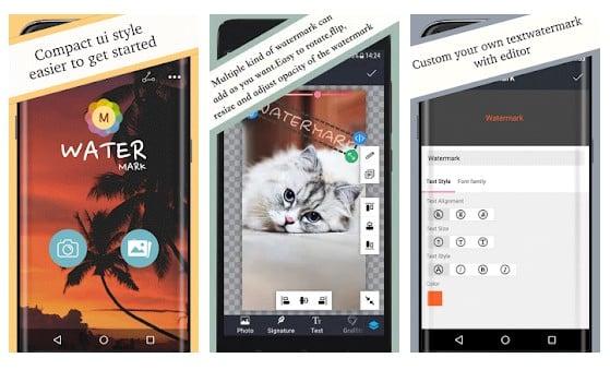 Aplikasi Cara Menambahkan Watermark pada Gambar Android - Watermark Apps Android Photo Watermark