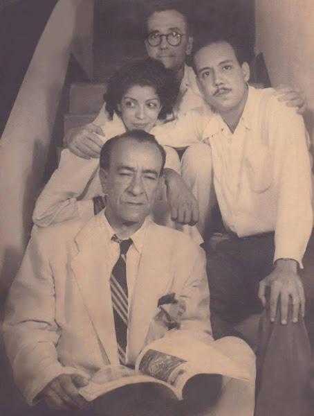 Jaime Colson, Clara Ledesma, Gilberto H. Ortega y Manolo Pascual