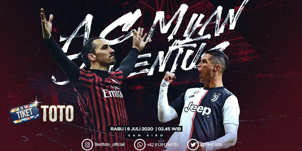 AC Milan Tampil Gemilang Pecundangi Juventus 4-2