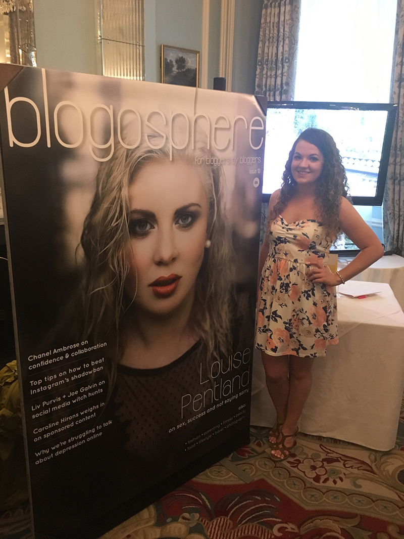 Elaine Malone XOmisse at the #BlogosphereCoverReveal - Blogosphere Magazine Issue 13 with Louise Pentland