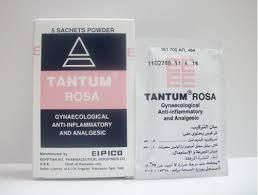 سعر دواعى إستعمال تانتم وردى Tantum Rose مضاد للألتهابات المهبلية
