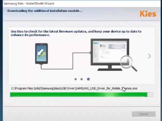 تحمیل برنامج سامسونج كیز لتوصیل الهاتف بالكمبیوتر