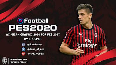 PES 2017 Graphic Menu AC Milan