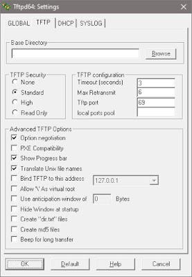 Загрузка по сети: Установка и настройка DHCP, TFTP-сервера