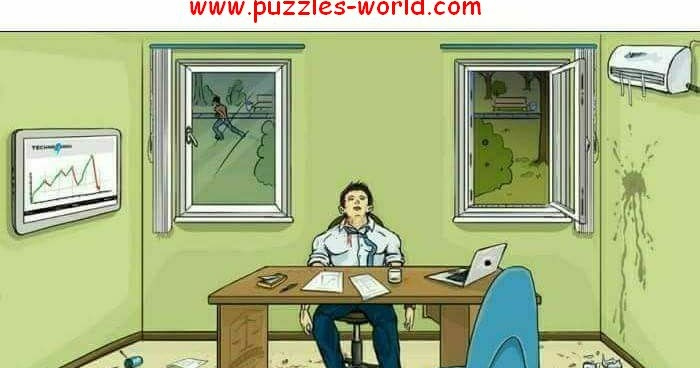 Is this Murder or Suicide Picture Puzzle | Puzzles World