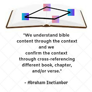 cross referencing the bible