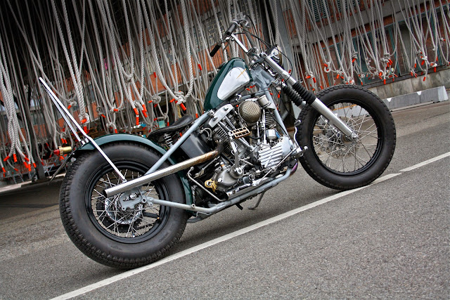 Harley Davidson By Customs From Jamesville Hell Kustom