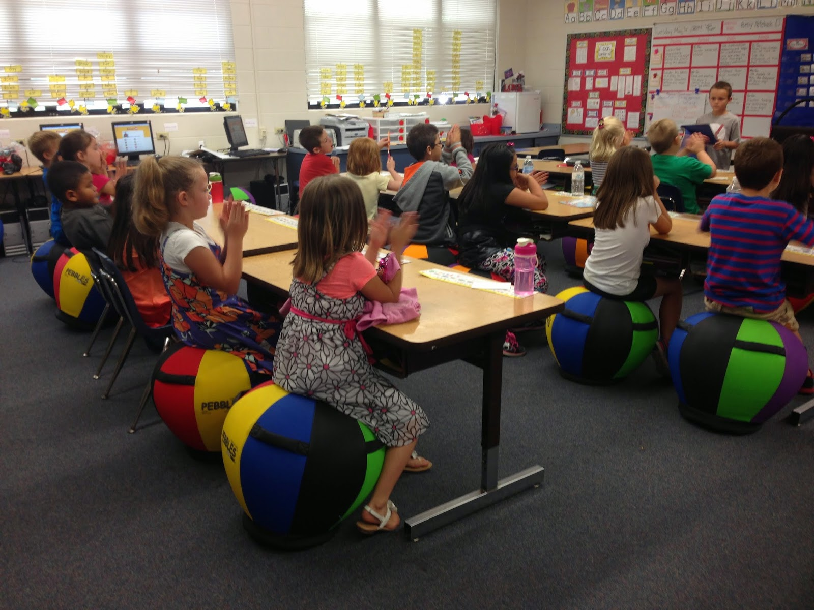 The Resourceful Apple Bright Ideas Alternative Seating