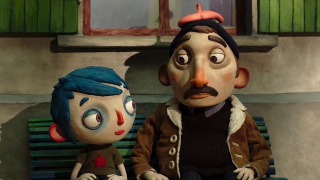 Pelicula de animación realizada con la técnica de stopmotion por el director Claude Barras My Life as a Courgette Mi vida de calabacín