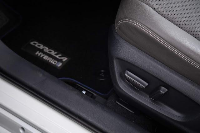 Novo Toyota Corolla 2020 Altis Hybrid Flex - interior