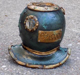 altering, vintage, jules verne, nautilus, diving helmet