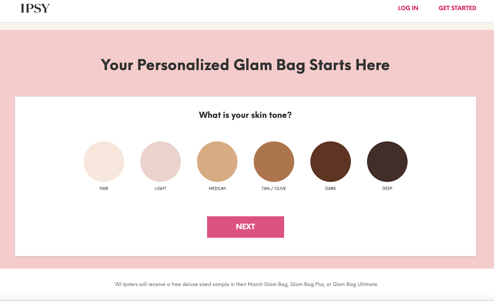 How to order IPSY