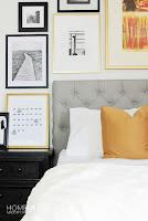 come realizzare una testiera del letto con stoffa