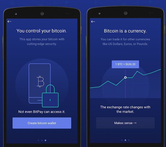 BitPay App supports Bitcoin and Bitcoin Cash