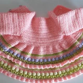 Chaqueta Bebé Crochet