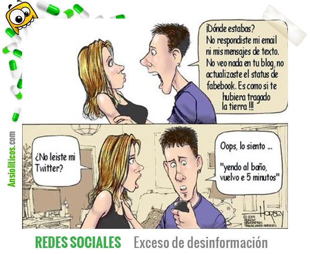 Chiste de Parejas Redes Sociales
