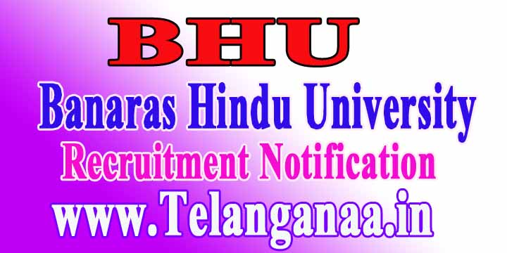 BHU (Banaras Hindu University) Recruitment Notification 2017