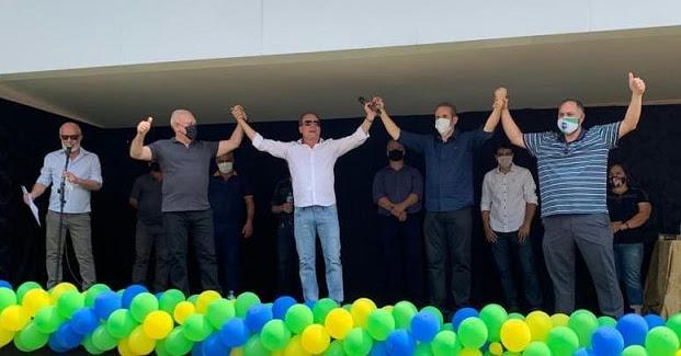 Ivaiporã: Convenção partidária aprova pré-candidatura a prefeito de Carlos Gil e Marcelo Reis, pré-candidato a vice-prefeito