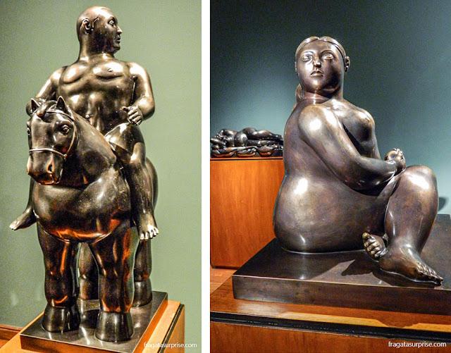 Esculturas de Fernando Botero, Museu Botero de Bogotá