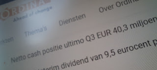 Aandeel Ordina dividend 2020