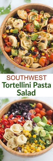 Southwest Tortellini Pasta Salad