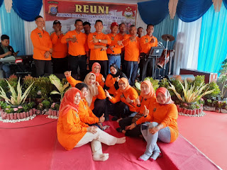 Kompol Rohmad Waka Polres Labuhanbatu Hadiri Reuni Alumni Seba Milsuk Polri Lido VII THN 86/87 Ke 33