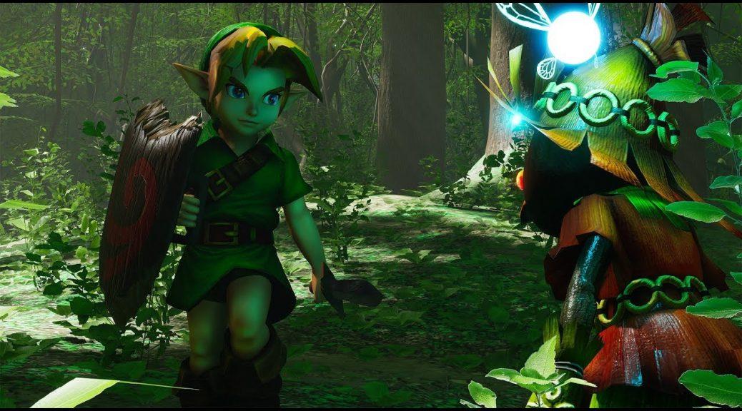 Speedy Freaks: The Legend of Zelda: Ocarina of Time Lost Woods