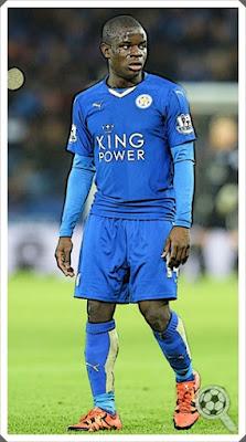 N'Golo Kanté Leicester City 2016