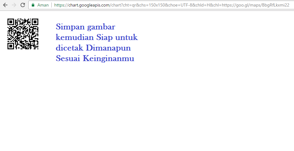 Cara Membuat Barcode QR Lokasi Google Maps - awiopen