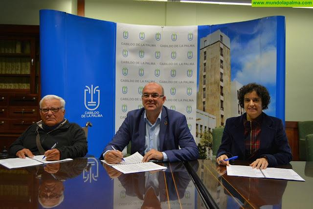 Cabildo y ADFILPA renuevan su compromiso de mejora de la calidad de vida de las personas con discapacidad de La Palma
