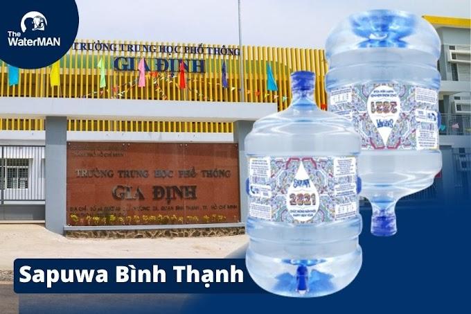 Đại lý nước tinh khiết Sapuwa quận Bình Thạnh