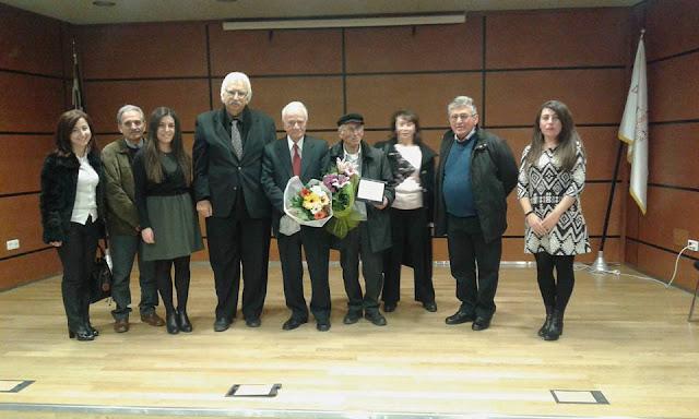Για την προσφορά του στον Ποντιακό Ελληνισμό, τιμήθηκε ο Σάββας Παπαδόπουλος