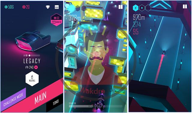 Beat Racer merupakan salah satu game offline android terbaik pada 2017