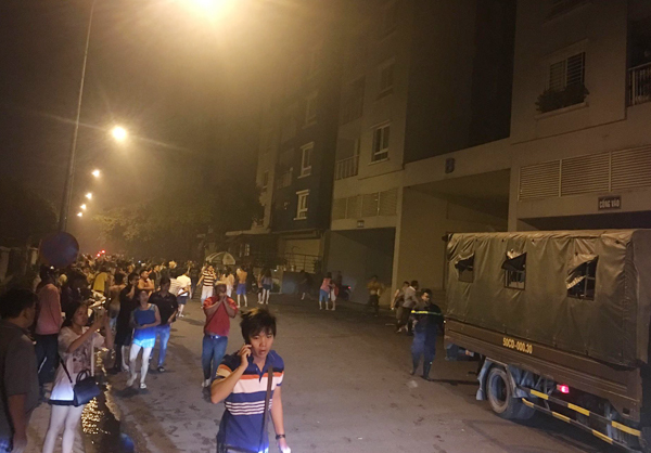 Nhiều người mắc kẹt trong đám cháy vì khói dày đặc không thể di chuyển