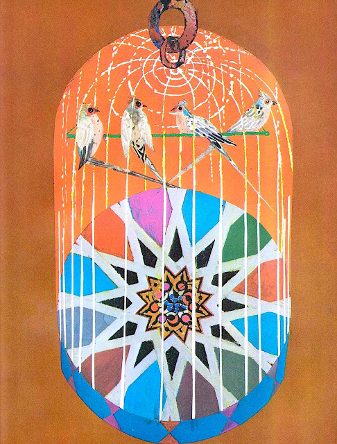 Brian Wildsmith illustration of birdcage 1972