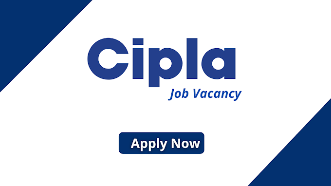 Cipla Vacancy Junior Operator - Production at Baddi on Nov 2020.