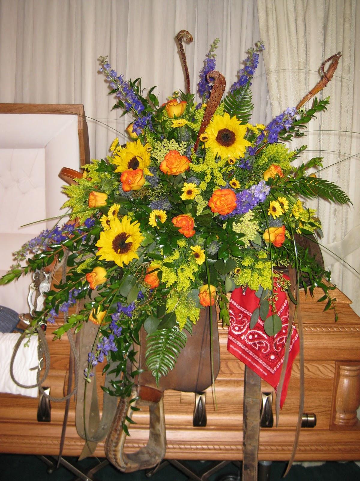 Janice East Designs: Sympathy Tributes - Casket Sprays