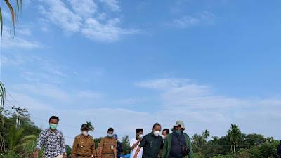 Bupati Irwan Resmikan Pemanfaatan Jalan Base Semukut-Kuala Merbau, Mobilitas Lancar Ekonomi Meningkat