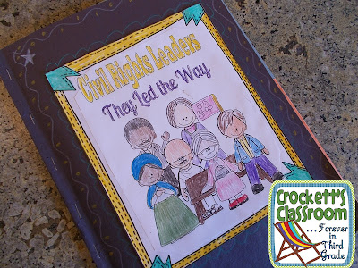 They Led the Way, Civil Rights leaders activity folder