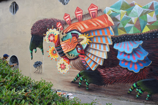 Street Art From Curiot On The Streets Of Mexico City. 2