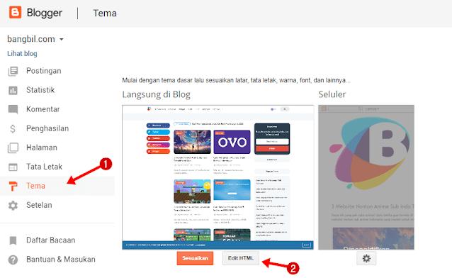 Cara Menyembunyikan Widget Blog di Tampilan Mobile