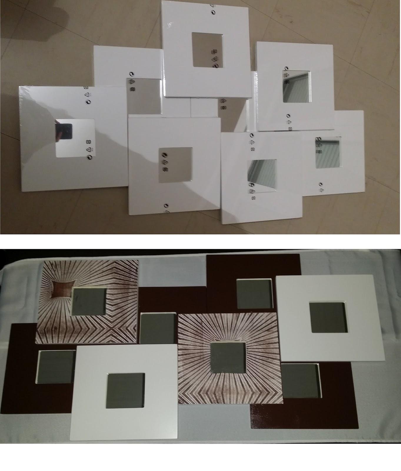 Customiser Un Cadre De Miroir customiser ses meuble: miroir malma